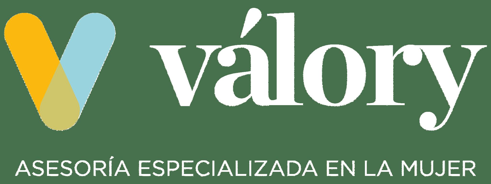 Logo Valory Asesoria Especializada en la Mujer